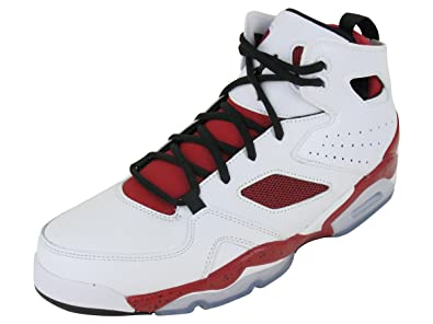 6a6f99ac43b337 Jordan Nike Air Flight Club  91 Mens Basketball Shoes 555475-101 White 12 M