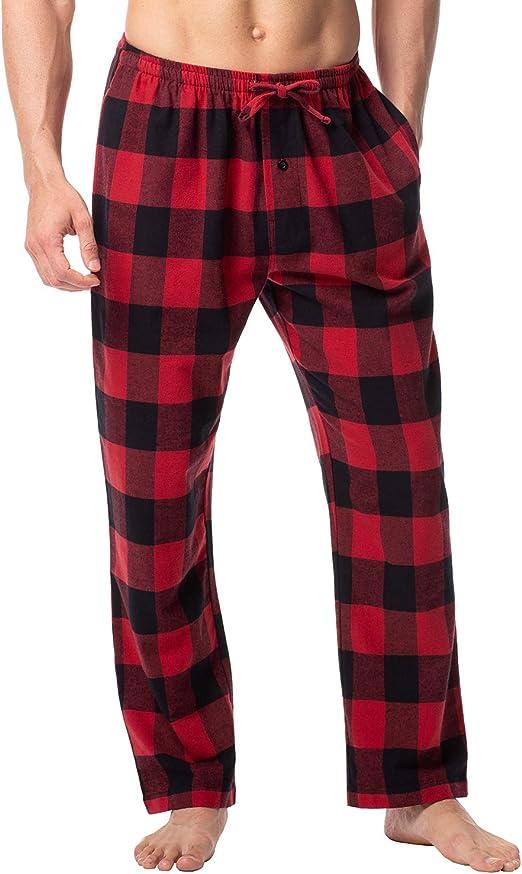Authentic Men's Plaid Woven Cotton Pants