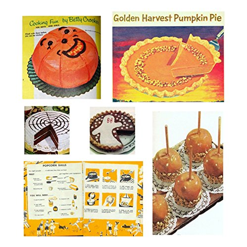 Retro Recipes Halloween Trick or Treat Vintage Baking -