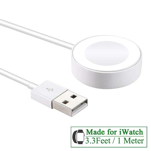 Cable cargador compatible para Apple Watch, cable de carga ...