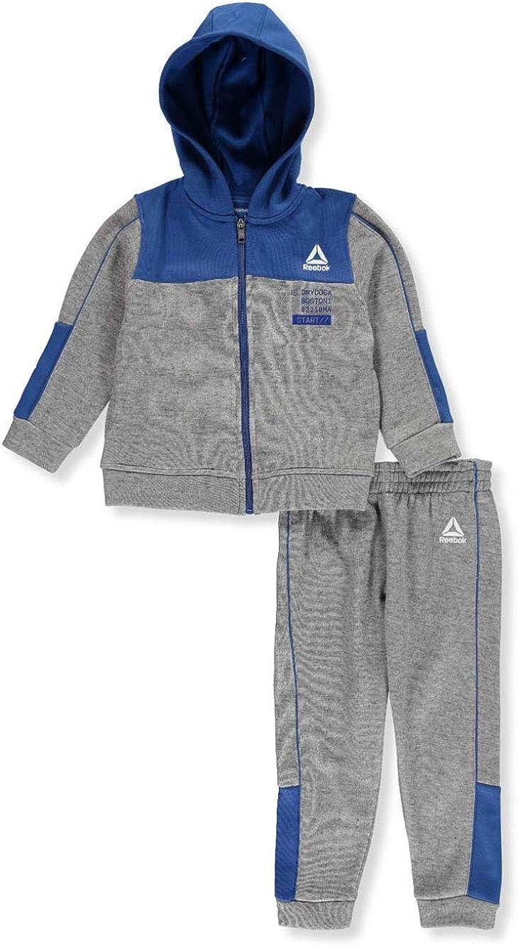 Reebok Boys Fleece 2-Piece Sweatsuit Pants Set