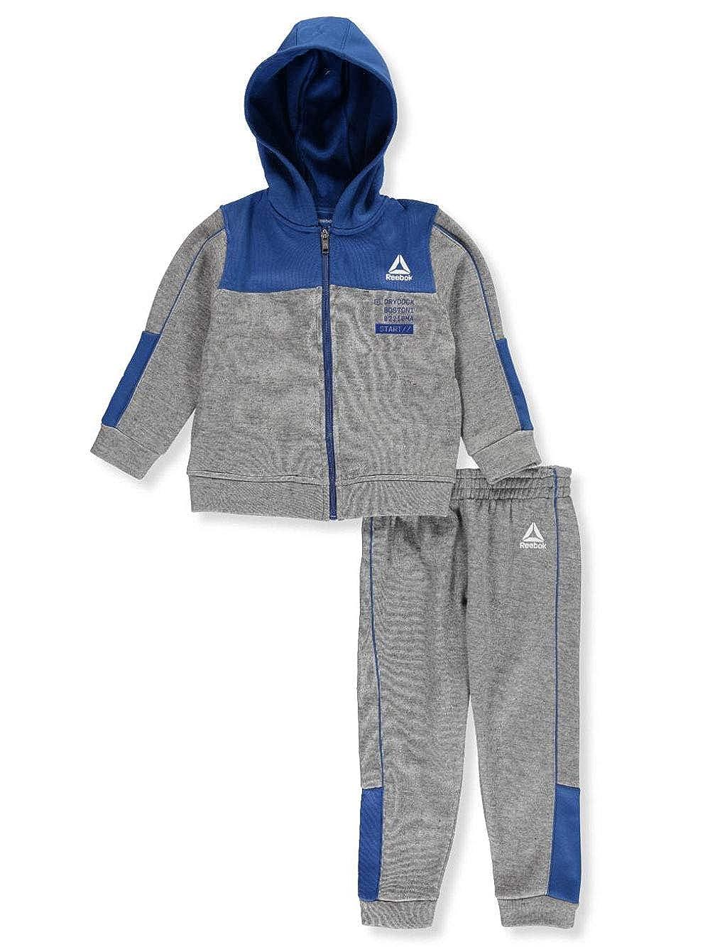 Reebok - Conjunto de pantalón de chándal de Forro Polar para niño ...