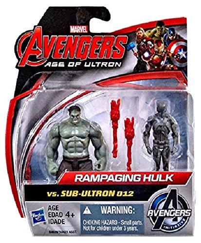 Avengers Rampaging Hulk vs Iron Sentry Action Figure