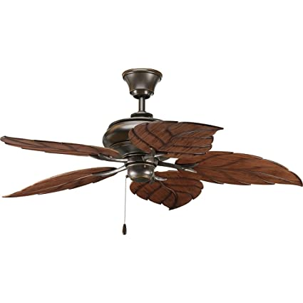 Progress lighting p2526 20 52 inch air pro ceiling fan antique bronze