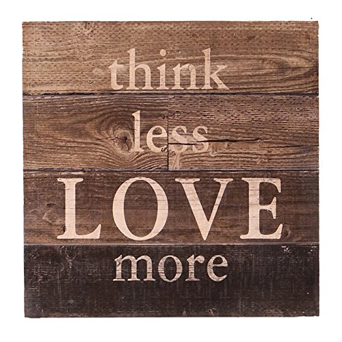 NIKKY HOME Decorative Wood Sign Wall Art with Inspirational Quote