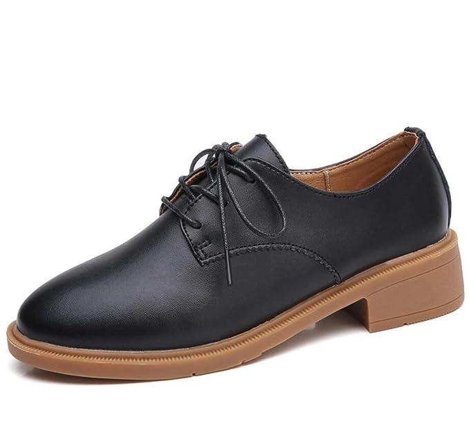 DANDANJIE Zapatos De Mujer Otoño Mocasines Moda Casual Oxford Zapatos: Amazon.es: Ropa y accesorios