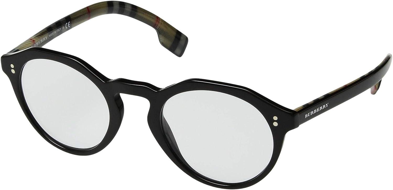 ba11135d8c Amazon.com  Burberry Men s 0BE4280 Black Clear One Size  Clothing