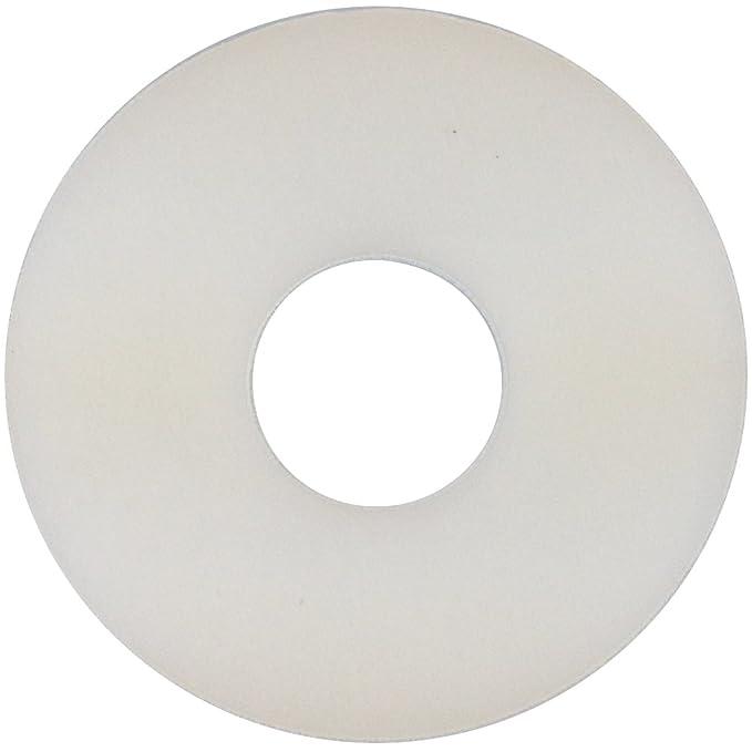   Beilagscheiben Kunststoffscheiben Scheiben DIN 9021 Polyamid PA Polyscheiben U-Scheiben 50 St/ück DERING Gro/ße Unterlegscheiben 3,2 M3