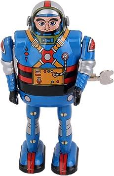 Amazon.es: Juguete de Cuerda Robot Astronauta Hojalata