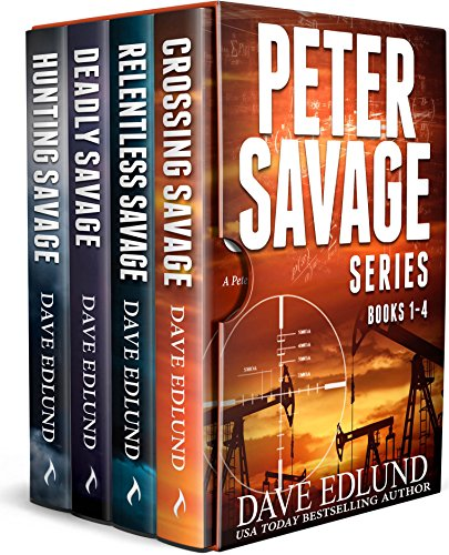 The Peter Savage Novels Boxed Set: (Books 1-4) by [Edlund, Dave]