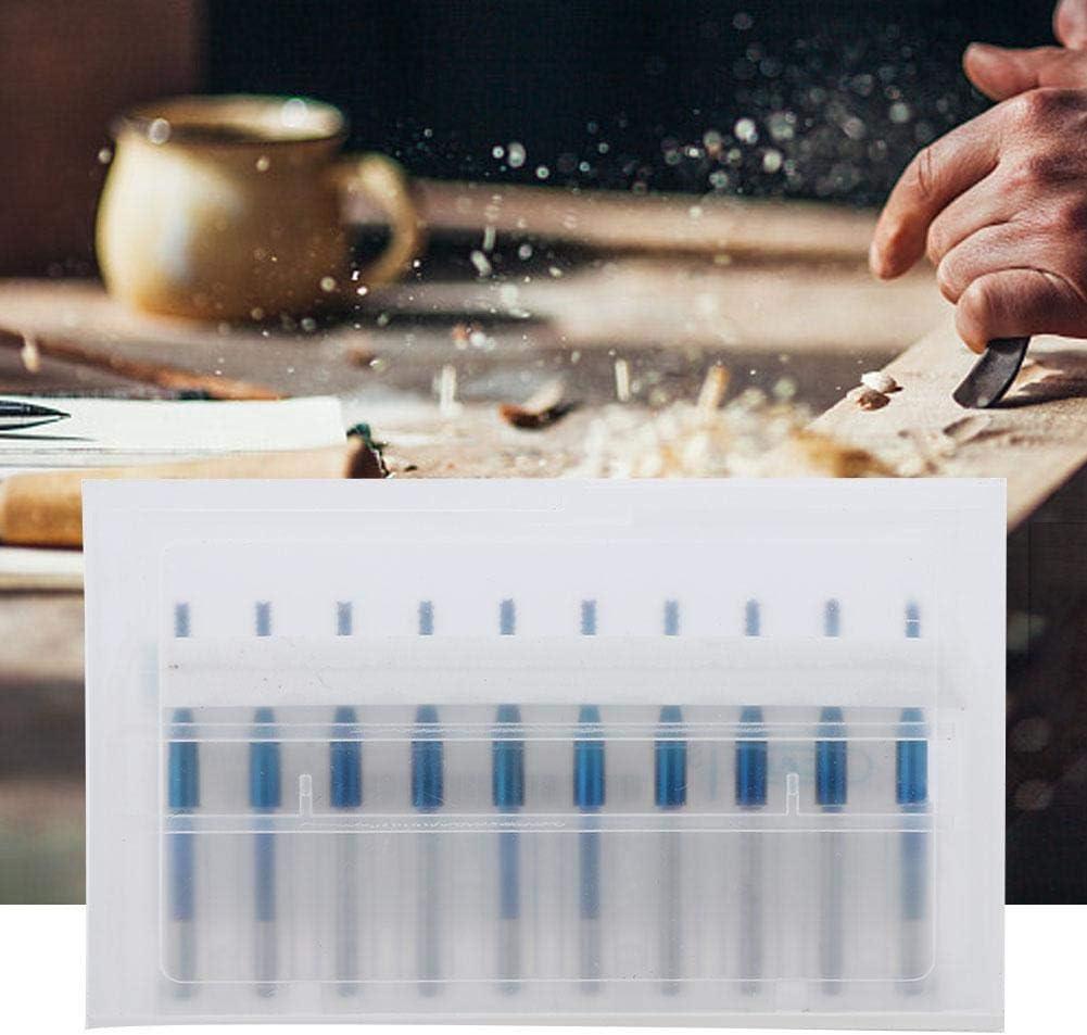 cuivre PCB acier inoxydable plastique 1,5mm gravure Fraise en carbure de toupie bleue pour fraises en carbure de tungst/ène pour CNC moule