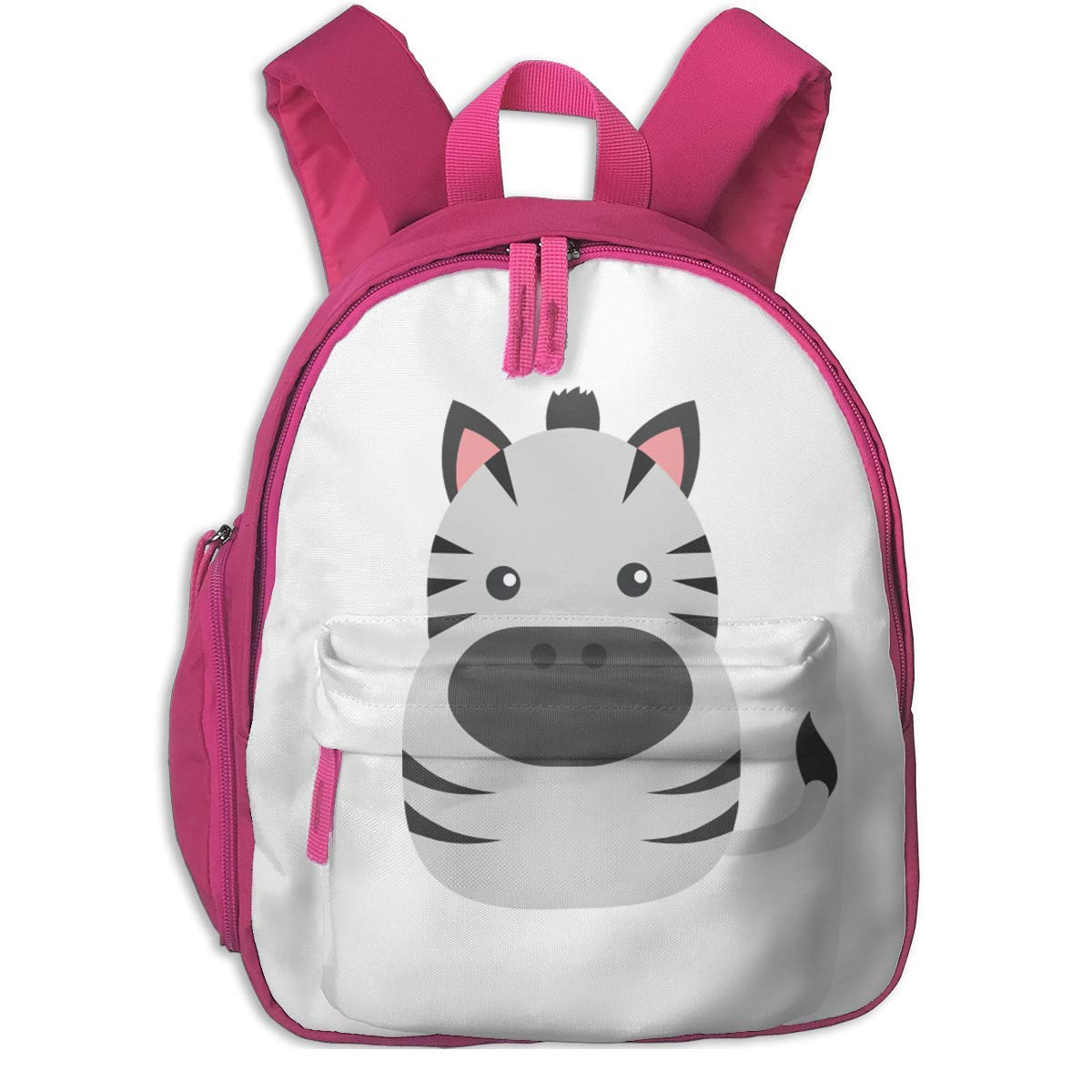 4ebcd1008c School Backpack for Girls Boys, Kids Cute schwarz and Weiß Pig Cartoon  Backpacks Book Bag