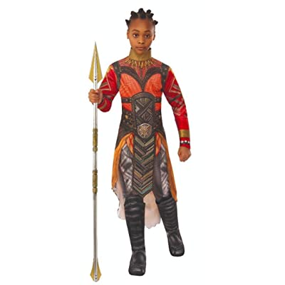 Rubie's Marvel Avengers: Endgame Child's Deluxe Dora Milaje Okoye Costume, Medium: Toys & Games