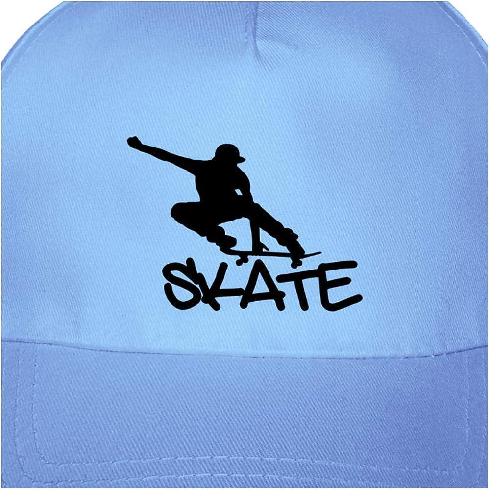 Samunshi/® Kinder Kappe Skate Skateboard Baseballcap Junior Original 5 Panel Cap 8 Farben One Size