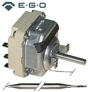 Ego Termostato 55.34032.010 Max. Sonda de temperatura 200 °C 3 pines Diámetro