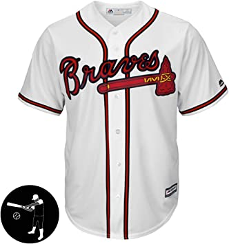 BUY-TO Jerseys de los Hombres Camiseta de béisbol Camisetas Atlanta Warriors SIN Logotipo,White,Men-M: Amazon.es: Deportes y aire libre