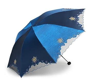 TysLDss Puntillas, encajes, tres pliegues, clima, sombrillas, parasoles, vinilo anti
