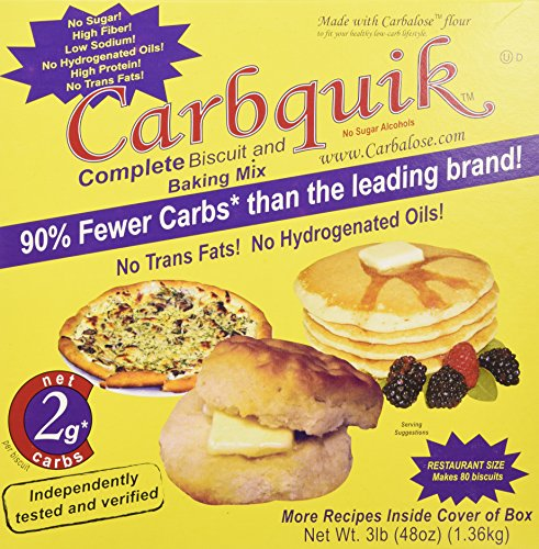 Carbquik Baking Mix, 3 lb (48 oz) (Best Low Carb Baking Mix)