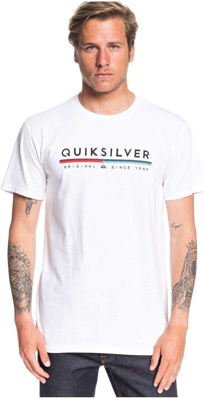 Quiksilver Mens Retro Lines Tee