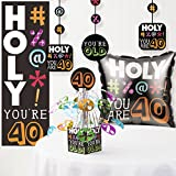 Holy Bleep 40th Birthday Decorations Kit