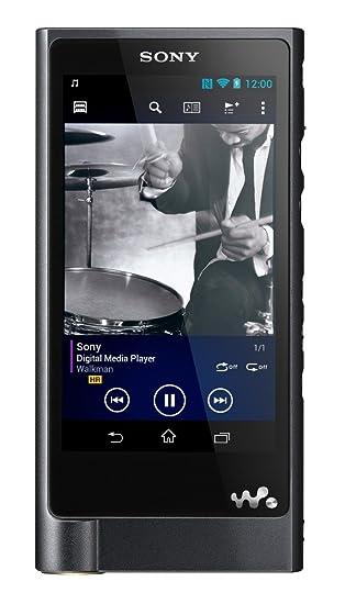 Sony Walkman NWZX2BLK 128 GB Hi-Res Digital Music Player (Black)
