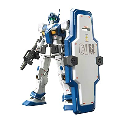 "Bandai Hobby HG 1/144 #22 GM Guard Custom ""Gundam MSV-R"": Toys & Games"