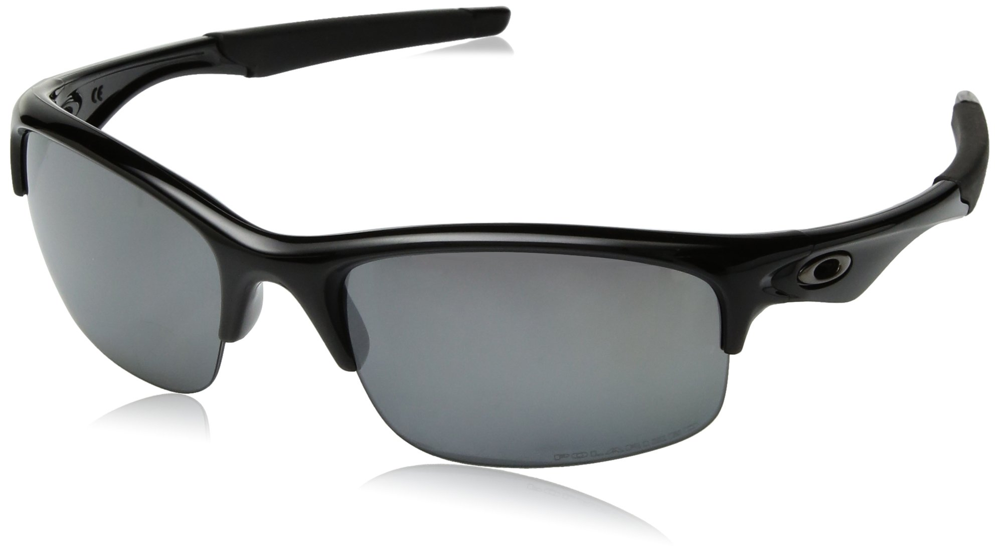 Oakley Polarized Bottle Rocket Polished Black/Black Iridium Polarized Sunglasses by Oakley