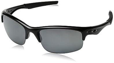 6b4d41d785 Image Unavailable. Image not available for. Color  Oakley Polarized Bottle  Rocket Polished Black Black Iridium Polarized Sunglasses