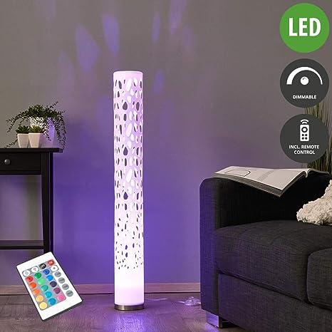 LED Lámpara de pie Alisea (Moderno) en Blanco hecho de ...