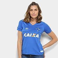 Camisa Cruzeiro I 18/19 s/n C/Patrocínio - Torcedor Umbro Feminina