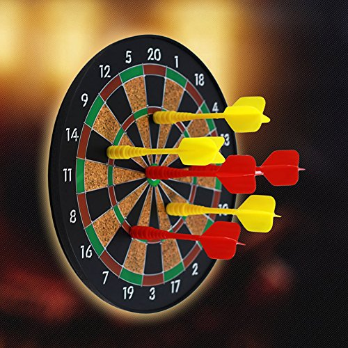 toponechoice磁気DartboardゲームBest安全Magnetic Dart Board Games Gifts For Kids30cm