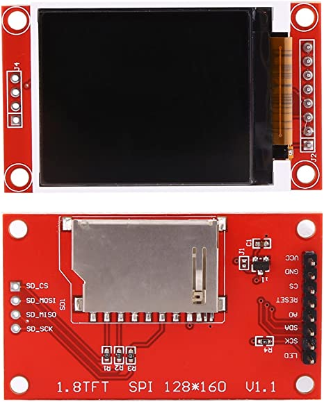 1PCS 1.8/'/' 128X160 SPI ST7735S TFT LCD Full Color Display Module STM32 C51