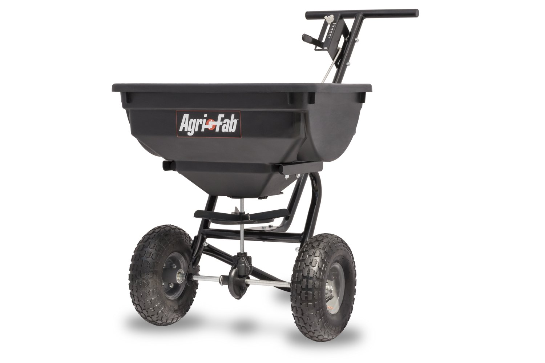 Agri-Fab 45-0532 Pro Push Spreader, 85 lb Black