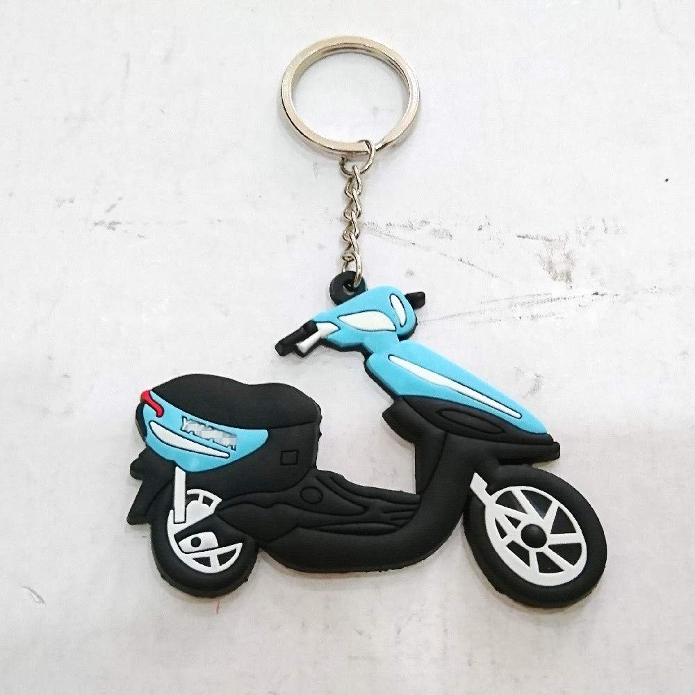 Soft Rubber Keyring Keychain Keytag For Aftermarket Universal Motorcycle Bike Accessories For Example Street Bike Scooter Motor yamaha Vintage Style Rider Driver Enthusiasts Fans Collection Item aegarageae198619861296