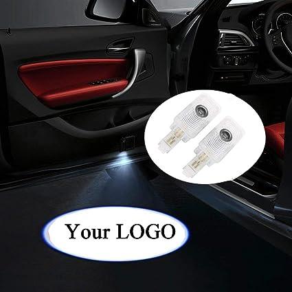 2 luces de identificación para puerta de coche con símbolo de ...