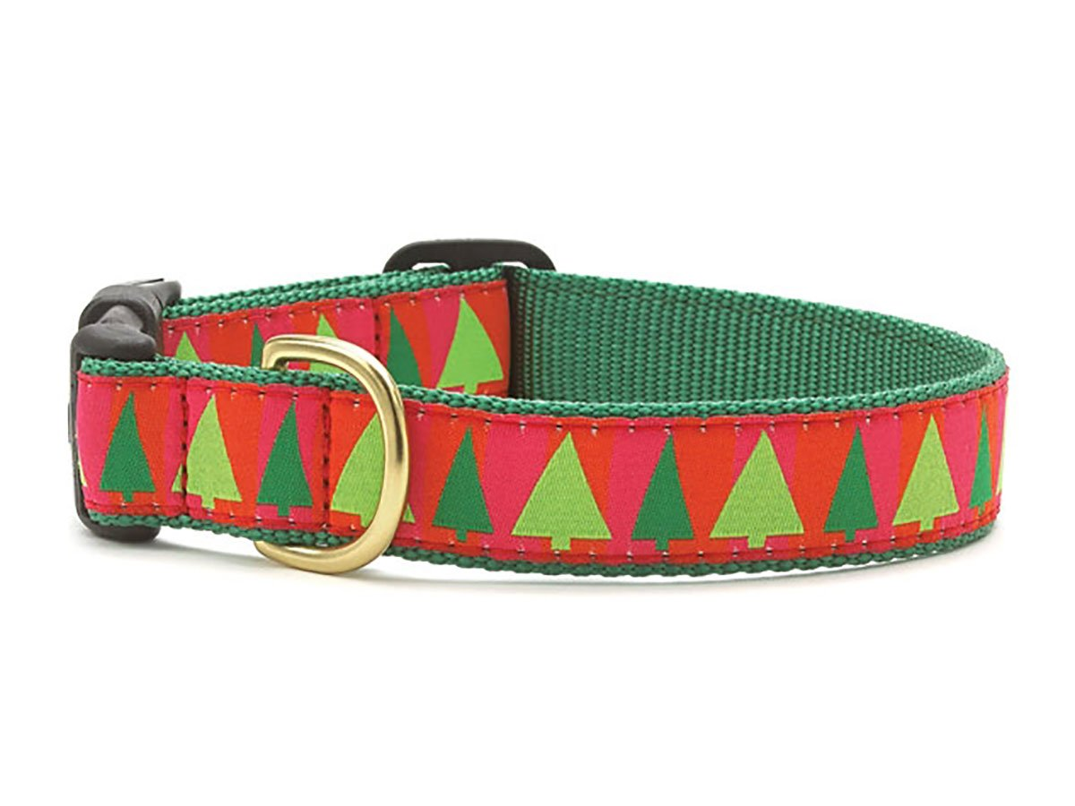Up Country Festive Trees Collar M