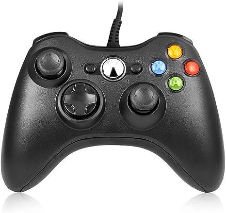 Xbox 360 Controller, RegeMoudal Mando para Microsoft Xbox 360 USB ...