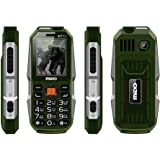 Kechaoda K112 Triple SIM Mobile Phone with 5000mAH Battery and 2.4-inch Screen (Green)