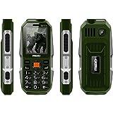 Kechaoda K112 Triple Sim Keypad Mobile with 2.4 inch Screen Front & Rear Dual Camera (Green)