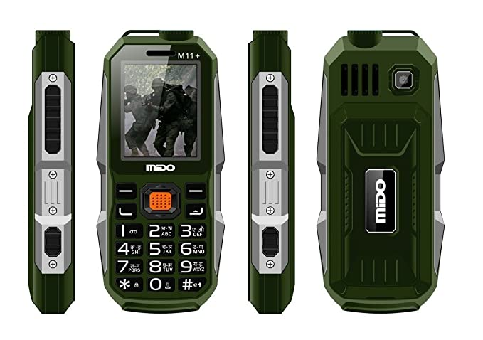 601b641168f Kechaoda K112 Triple SIM Mobile Phone with 5000mAH Battery and 2.4-inch  Screen (Green