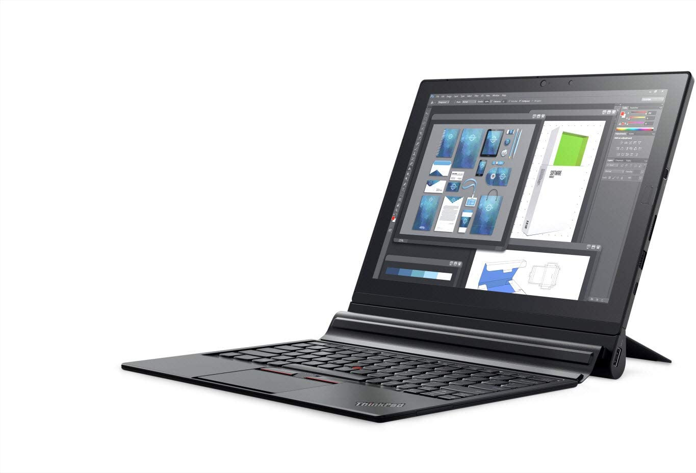 "Lenovo ThinkPad X1 2-in-1 Tablet Laptop (12"" (2160x1440) IPS FHD+ Touchscreen, Intel Core m7-6Y75, 256GB SSD, 8GB RAM, Detachable Keys, Only 1.7lbs, Windows 10 Professional)"