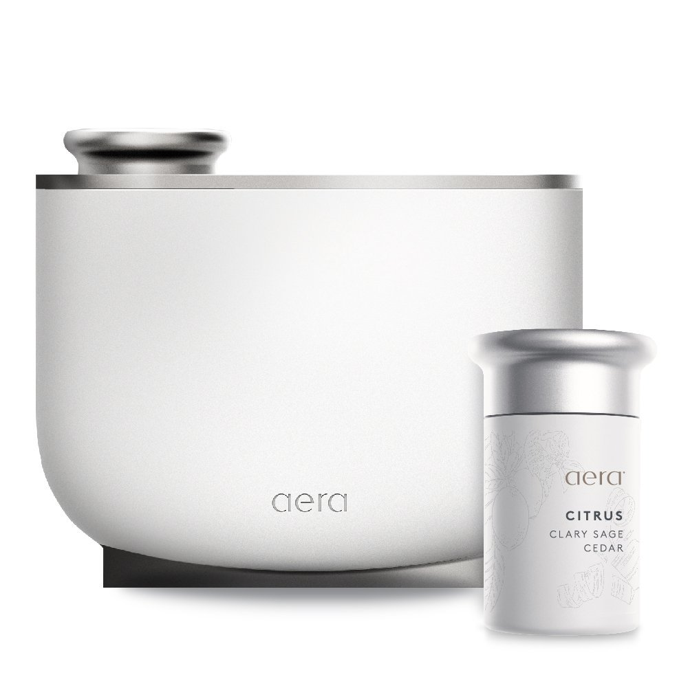 Aera Smart Fragrance Electric Diffuser, App Controlled Home Fragrance, Includes Citrus Home Fragrance Capsule