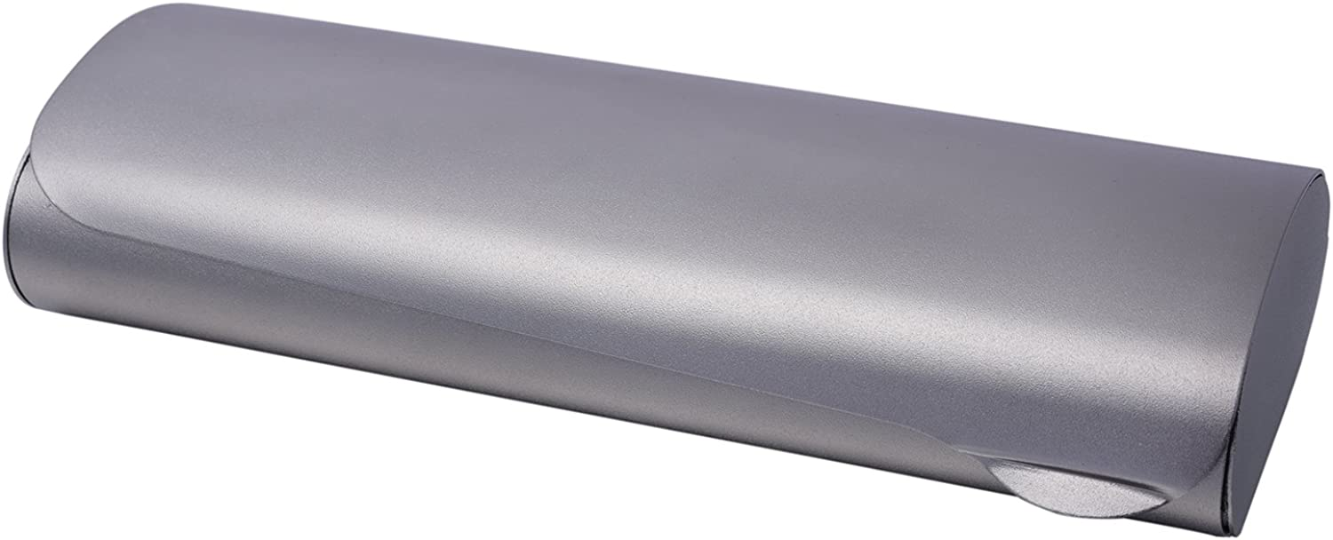 Philley Glasses Case Slim Hard Aluminum Metal Lightweight Eyeglass Case and Cloth