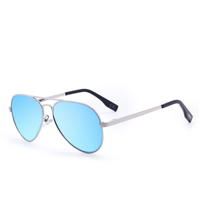 Herrenmode Sonnenbrillen Polarisierte Sonnenbrille Männer Fahren,TransparentFrameIceBlue