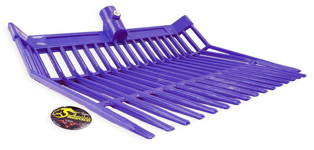 Perfect-Scoop Replacement Fork Heads Heavy Duty - By Southwestern Equine (Purple)