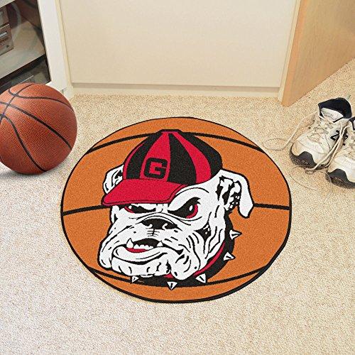 Georgia Bulldogs Mascot FanMats Basketball (Georgia Bulldogs Basketball Rug)