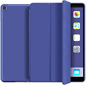KenKe iPad 9.7 Case 2018 iPad 6th Generation Case / 2017 iPad 5th Generation Case,Ultra Slim Lightweight Smart Cover TPU Soft Auto Sleep/Wake 9.7 inch iPad 5th/6th Gen A1822,A1823,A1893,A1954-Navy