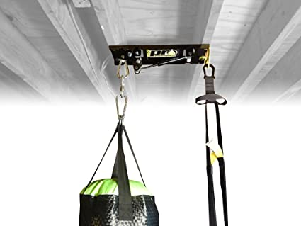 Ceiling Mount For Punching Bags With TRX Trainer Mount (9, 60lbs)