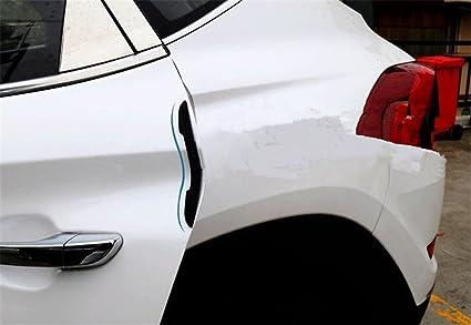 8PCS//Set Scratch Strip Protection Car Door Edge Guards Trim Molding Delightful