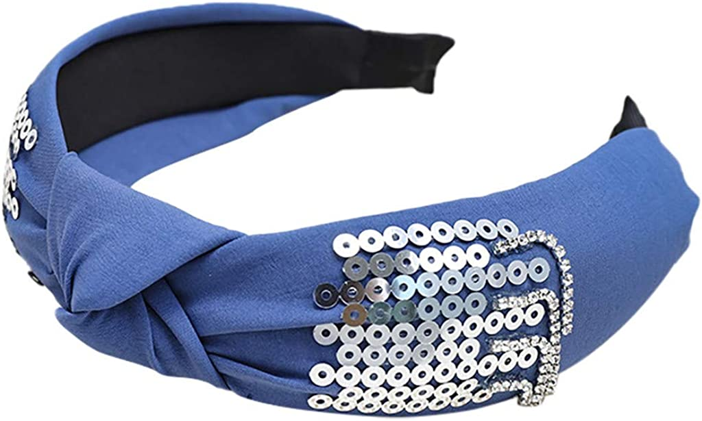 Wide Plain Headbands,2019 Yoga Hair Band Twist Knot Fashion Elastic Hair Accessories for Women and Girls